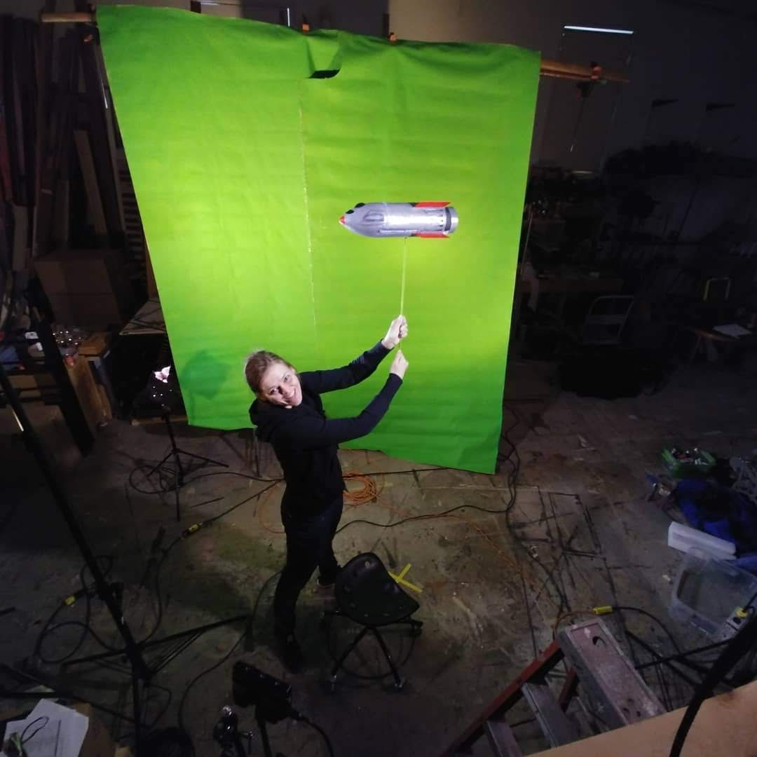 On-Set Props & Puppeteering